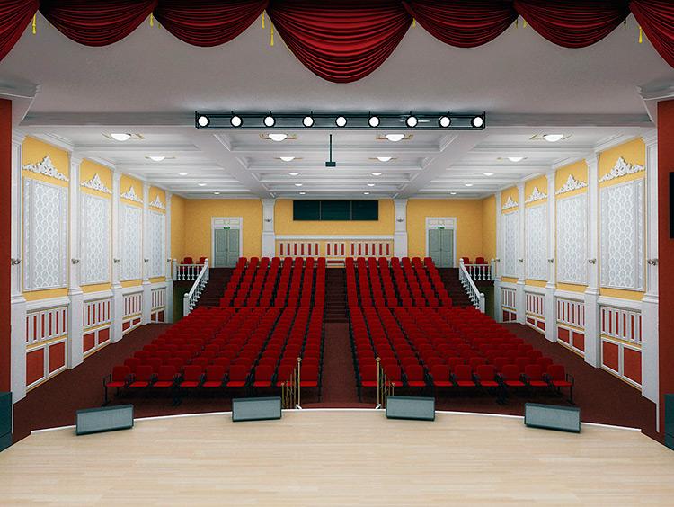 Проектирование актовых залов: какое оборудование предусмотреть