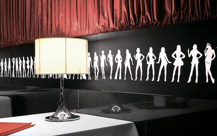 Интерьер кафе Podium-bar в Харькове