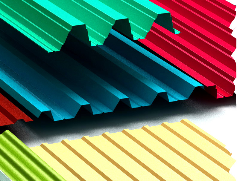 Крыша из профнастила: дешево и надежно