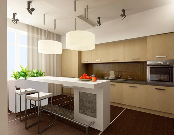 Фото кухни 25 м