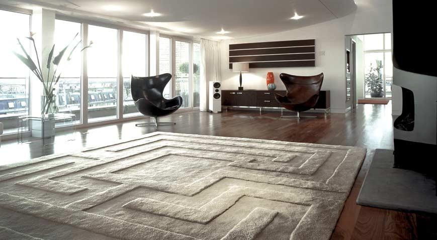 Ковры в интерьере, современные ковры