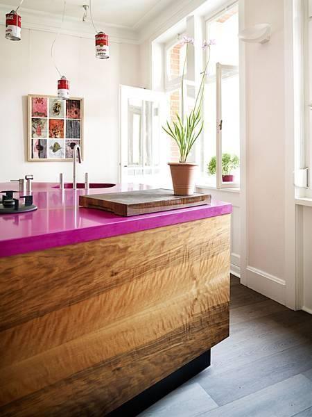 Столешницы в кухонном интерьере
