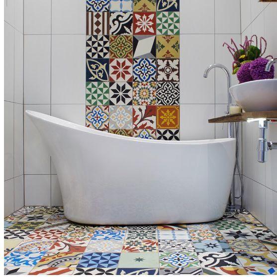 Мозаичная плитка. Фото
