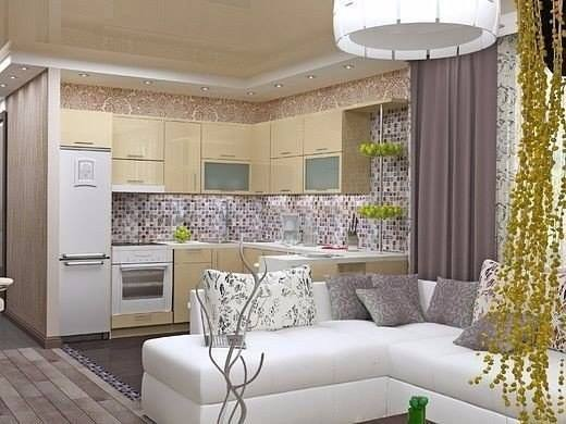 Дизайн однокомнатной квартиры в киевском ЖК «Комфорт Таун»