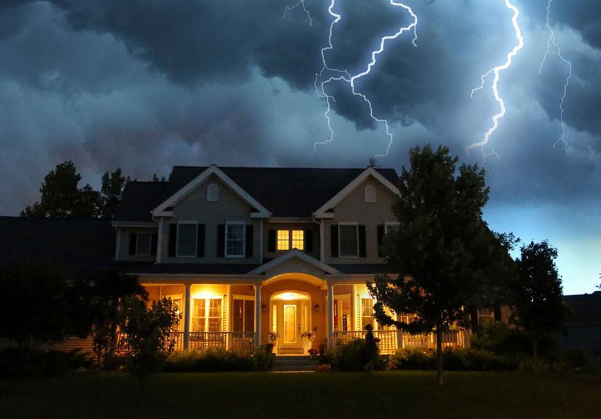 Молниезащита дома: как установить громоотвод